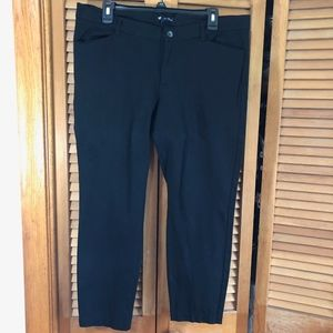Gap slim city stretch skinny crop career pants